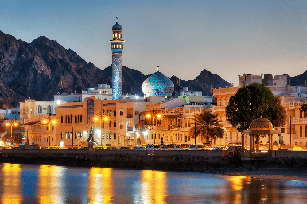 Cityscape of Muscat, Oman
