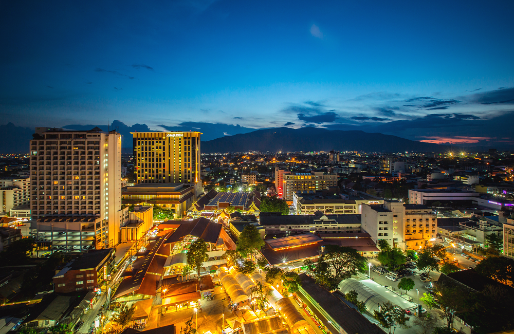 Chiang Mai City Scape