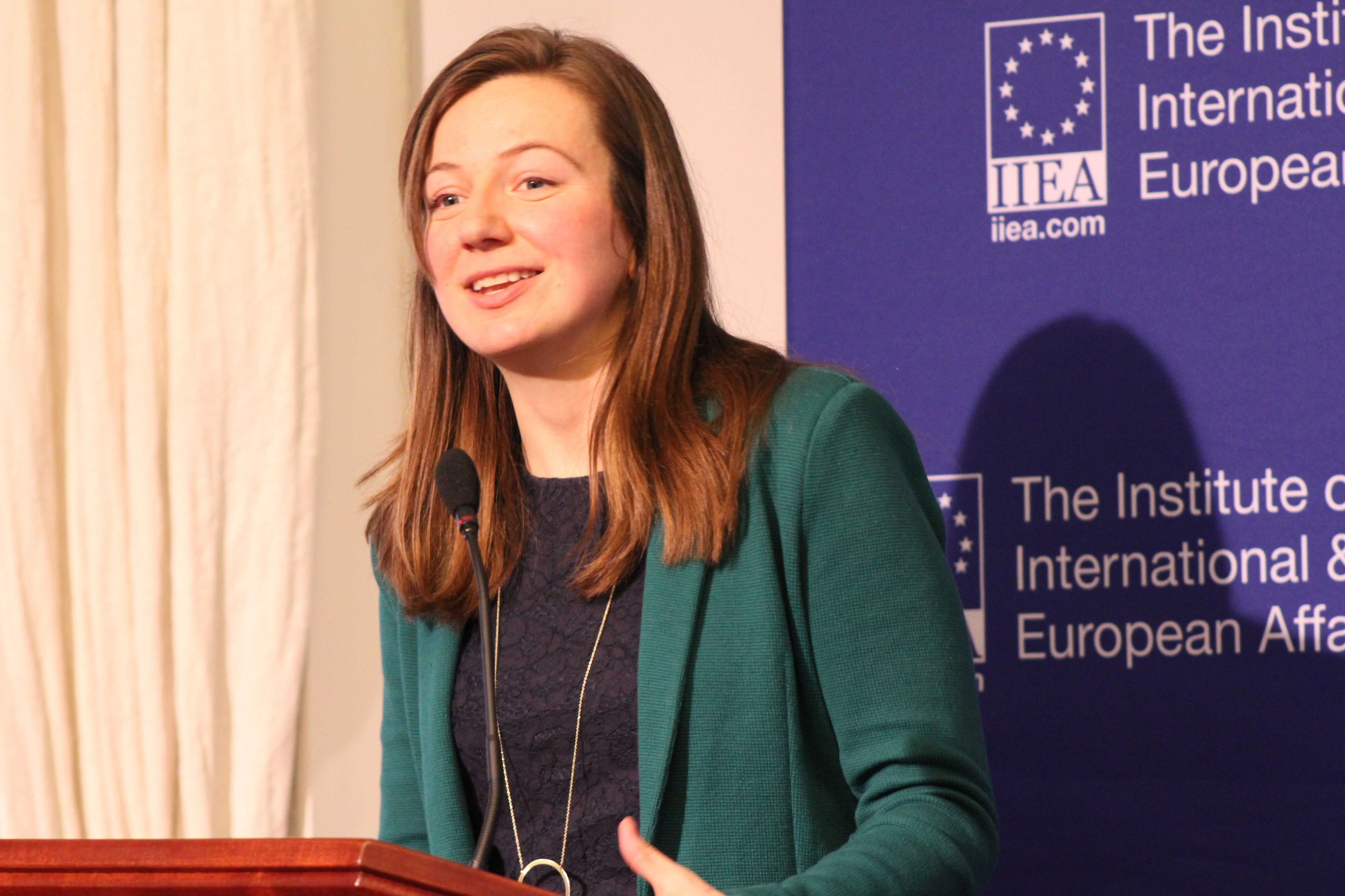 Emily Mansfield at Institute for International and European Affairs